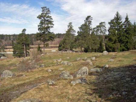 Kullunge - bygravfältet