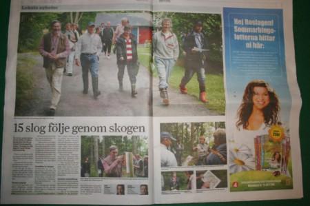 Norrtälje tidning 27 juli 2009