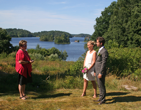 Anders och Annica vigs