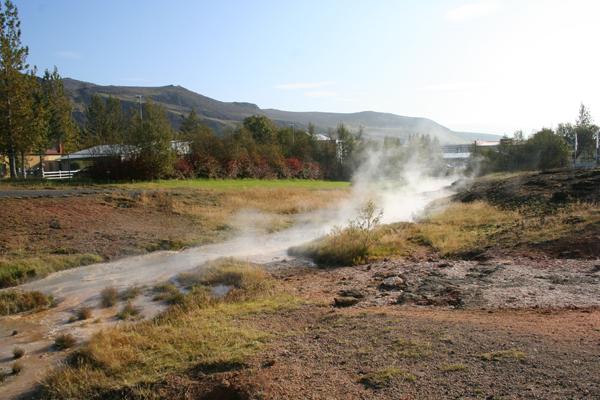 "Geotermiska ""parken"" i Hveragerði"